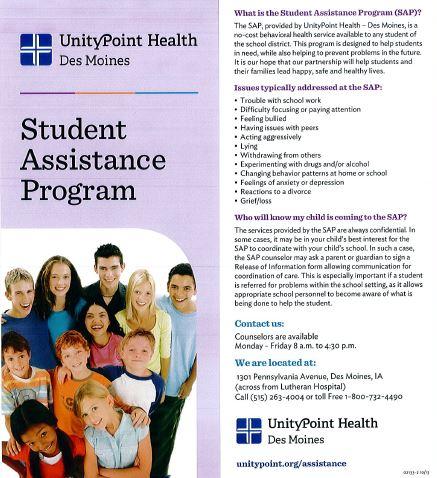Unity Point Student Assistance Program - Norwalk Community School