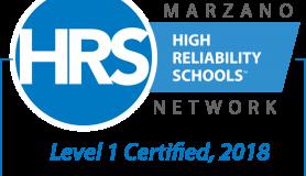 Marzano High Reliability Schools Logo