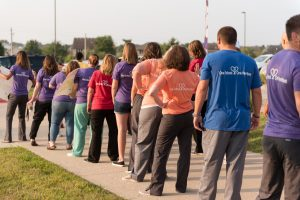lakewood staff greeting students