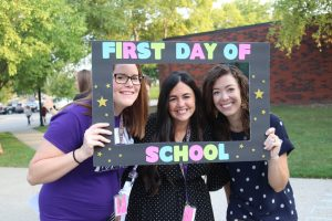 first day of school greeting