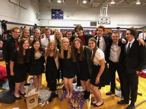 All State Vocal students group photo