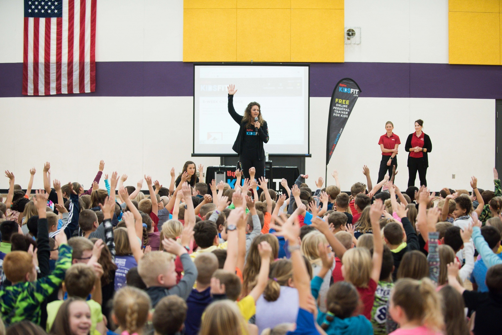 KIDS FIT Assembly at Lakewood
