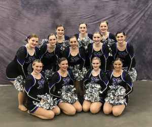 dance team photo at State