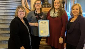 counselors with proclamation from the Governor