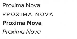 Norwalk Schools' secondary font for the district branding