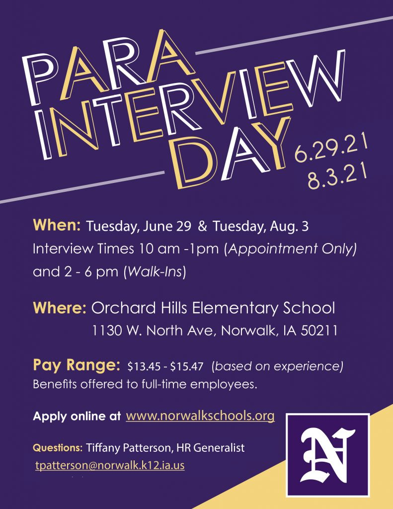 Para Interview Day 2021