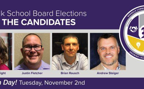 School Board Election Hero Slide 2021