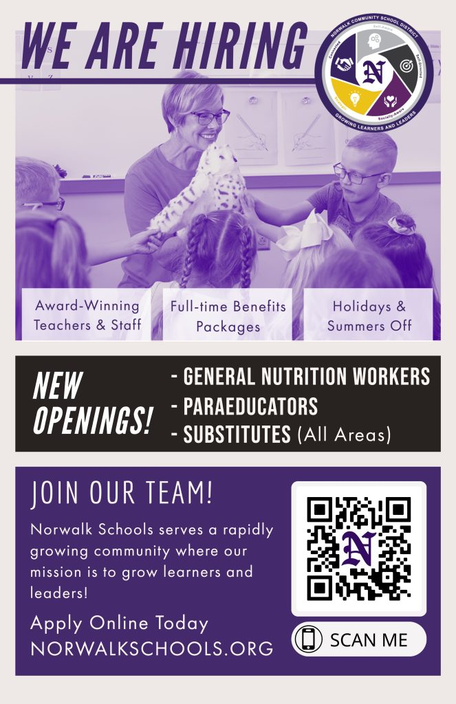 Join our team career poster